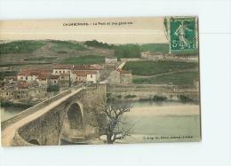 CHAMBONNAS : Le Pont Et Vue Générale. 2 Scans. Edition Artige - Autres Communes