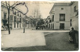 - 18 - CADIZ - Jerez De La Frontera, Calle Sagasta, Animation, Attelage, Non écrite, épaisse, BE, Scans. - Cádiz