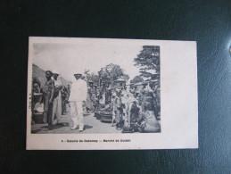 CPA - COLONIE DU DAHOMEY - MARCHE DE OUIDAH - Dahomey