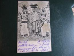 CPA - DAHOMEY - UNE FAMILLE - Dahomey