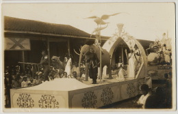 Real Photo Camajuani  Santa Clara Fiesta  With Elephant Eagle German Soldier With Svastika And Beauty Queens - Cuba