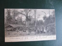 CPA - DAHOMEY - LE MARCHE D'AGONSA - Dahomey