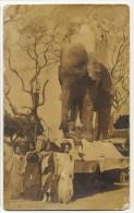 Real Photo Camajuani  Santa Clara Fiesta  With Elephant And Beauty Queens - Cuba