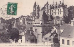 Loches - Le Château Royal - La Porte Des Cordeliers Et La Collégiale - Loches
