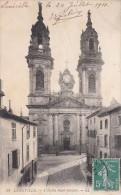 Cp , 54 , TOUL , LUNÉVILLE ,L'Église Saint-Jacques - Luneville