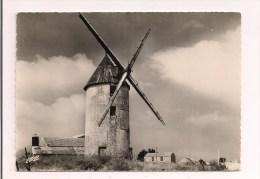 """85 -  NOIRMOUTIER:  Le Moulin De La Guérinière, Dit """" Moulin D'amour """" -1966 - Ed. De L'Europe - - Ile De Noirmoutier"""
