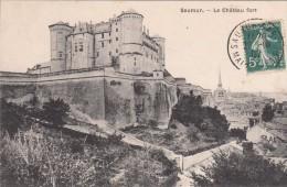 Cp , 49 , SAUMUR , Le Château Fort - Saumur