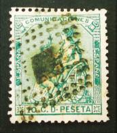ALLEGORIE DE LA REPUBLIQUE 1873 - OBLITERE - YT 132 - MI 127 - OBLITERATION LOSANGE - Oblitérés