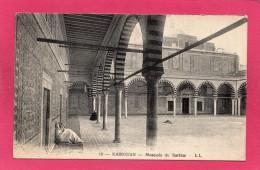TUNISIE KAIROUAN, Mosquée Du Barbier, Animée, 1938, (L. L.) - Tunisia