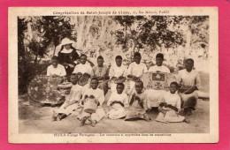 CONGO PORTUGAIS HUILA, Les Vanneries, Animée, Congrégation St-Joseph - Congo Francese - Altri