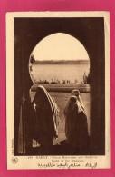 MAROC RABAT, Vision Marocaine Aux Oudayas, Animée, 1938, (Flandrin, Casablanca) - Rabat