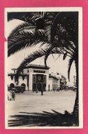MAROC RABAT, La Poste, Animée, 1947, (La Cigogne, Casablanca) - Rabat