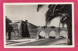 MAROC RABAT, Les Trois Portes, Animée, 1947, (France-Afrique) - Rabat