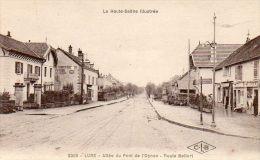 CPA - LURE (70) - Aspect De L'Allée Du Pont De L'Ognon , Route De Belfort En 1931 - Lure