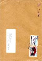 AUTRICHE. N°1397 De 1978 Sur Enveloppe Ayant Circulé. Métro De Vienne/Biathlon. - Tramways