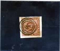 1851 Danimarca - Valore In Rigsbank Skilling - Usati