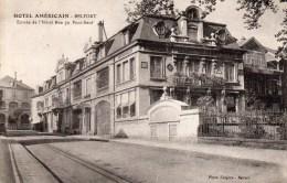 BELFORT  :hotel Américain  ,entrée De L'hotel Rue Du Pont-neuf - Belfort - Ville