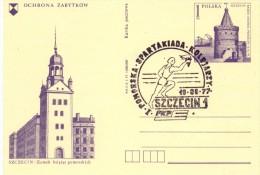 POLAND POLSKA SZCZECIN 1   FULL POST (F160055) - Giochi Olimpici