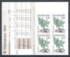 EUROPA-CEPT 1992 - Danemark - Carnet Complet Avec 10 V NEUF ** (MNH) - Europa-CEPT