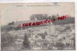 33 - LORMONT - VUE GENERALE  L' EGLISE ET LE CHATEAU DE LORMONT - Sonstige Gemeinden