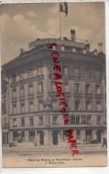 SUISSE - BERNE - HOTEL DE FRANCE   - A. FLEURY GLAUS - BE Berne