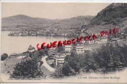 SUISSE -  MONTREUX ET L´ HOTEL BONIVARD - Suisse