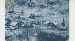 70 - CHATEAU LAMBERT / VUE GENERALE EN HIVER - Francia