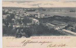 Beyrouth-la Ville Et Le Port,vus St.dimitri -veduta  -1903 - Liban