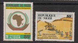 1988 Niger  OAU & Dertification MNH - Niger (1960-...)