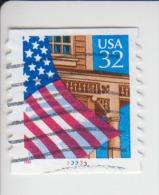 Verenigde Staten(United States) Rolzegel Met Plaatnummer Michel-nr 2726 I BCa Plaat 33333 - Roulettes (Numéros De Planches)