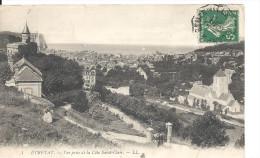 ETRETAT   - Vue De La Côte St Claiir - Etretat