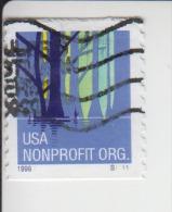 Verenigde Staten(United States) Rolzegel Met Plaatnummer Michel-nr 2967 Plaat  S1111 - Coils (Plate Numbers)