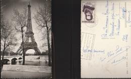 3997) PARIGI LA TOUR EIFFEL VIAGGIATA 1958 - Non Classés