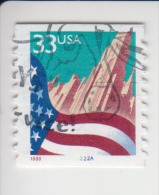 Verenigde Staten(United States) Rolzegel Met Plaatnummer Michel-nr 3091 BG II Plaat  2222A - Roulettes (Numéros De Planches)