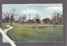 Etats Unis Amerique - Davenport, View Soldiers Orphans Home - Davenport