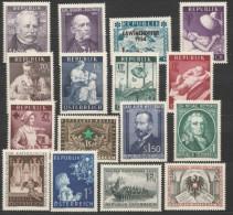 Österreich / Austria, 1954, Ausgaben Ohne Freimarken, Postfrisch Ohne Falz ** - 1945-60 Nuevos & Fijasellos