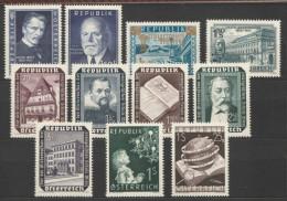 Österreich / Austria, 1953, Ausgaben Ohne Freimarken, Postfrisch Ohne Falz ** - 1945-60 Nuevos & Fijasellos