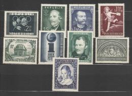 Österreich / Austria, 1952, Ausgaben Ohne Freimarken, Postfrisch Ohne Falz ** - 1945-60 Nuevos & Fijasellos