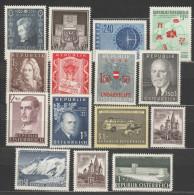 Österreich / Austria, 1956/57, Ausgaben Ohne Freimarken, Postfrisch Ohne Falz ** - 1945-60 Nuevos & Fijasellos