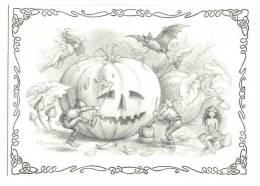 """Halloween, Samain, Fées, Lutins, Elfes, Citrouilles, Joël Bernabel Pour """"S Comme Sorcière"""" De Marie Des Bois - Halloween"""