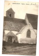 § TRES RARE § 28 - MONTLOUET Eglise Entrée Animée - Other Municipalities
