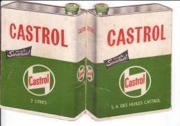 Calendrier Publicitaire 1960 Et 1961 Offert Par Les HUILES CASTROL - Calendarios