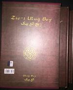 OTTOMAN PERSIAN ASTRONOMY ZIC-I ULUG BEY 2 VOLUME - Books, Magazines, Comics