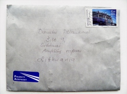 Cover From Eire Ireland To Lithuania Building - Covers & Documents