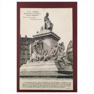 Paris  Monument Pasteur  Place Breteuil - Statues