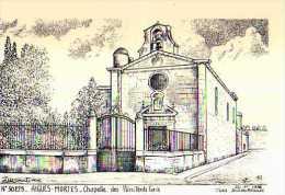 30 AIGUES MORTES Chapelle Des Penitents ,illustrateur Ducourtioux - Aigues-Mortes