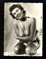 Half Naked Women / Garters For Stockings / Photo Cca 6.5x9 Cm - Nus Adultes (< 1960)