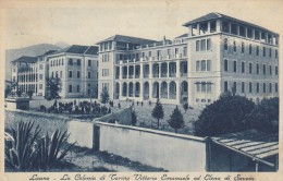 7750-LOANO(SAVONA)-COLONIA DI TORINO VITTORIO EMANUELE ED ELENA DI SAVOIA-1936-FP - Savona