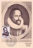 France N°1134 - Cervantes - Carte Maximum - 1950-59