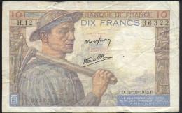 10 FRANK - 1871-1952 Gedurende De XXste In Omloop